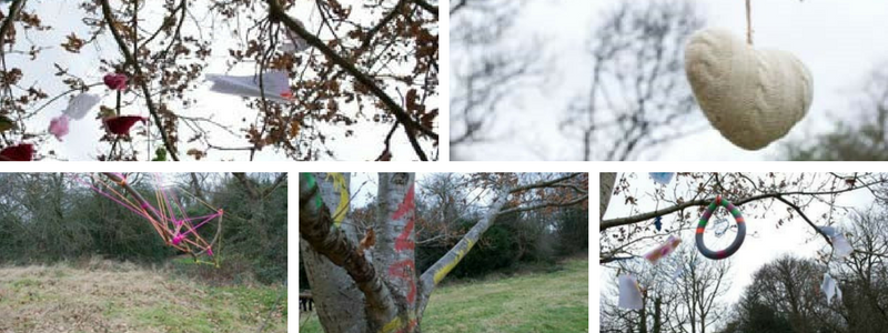 Rusthall Community Arts - Quirky Tree event through the eyes of Sonia Lawrence